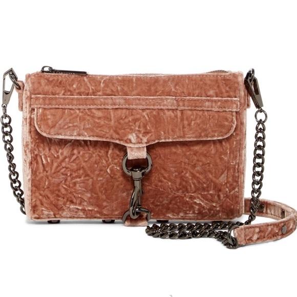Rebecca Minkoff Handbags - Rebecca Minkoff Mini MAC Velvet Crossbody Bag